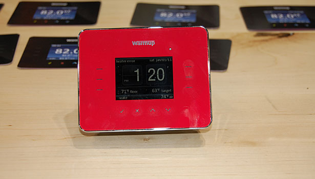 Warmup digital thermometer