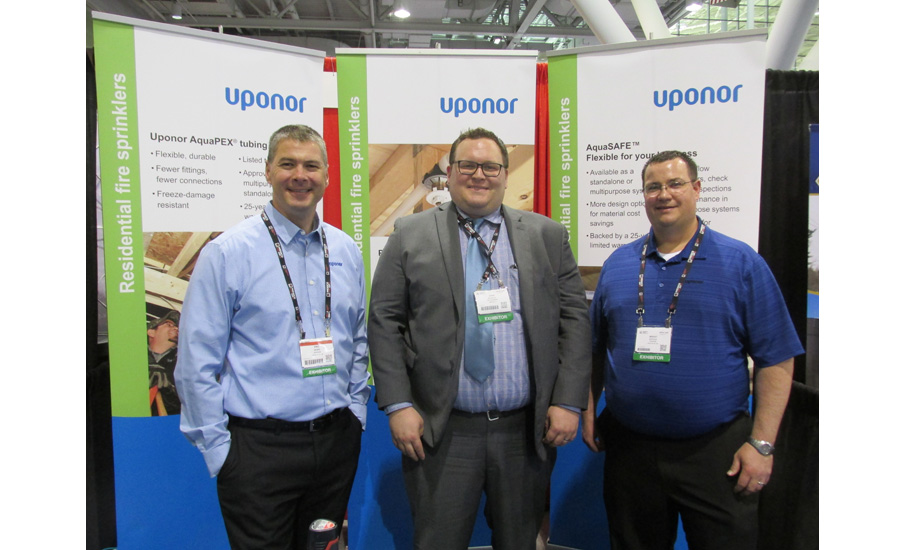 Uponor Fire Safety Systems Product Manager Eric Skare