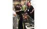 Attendees of the NFPA Expo stop at Viega