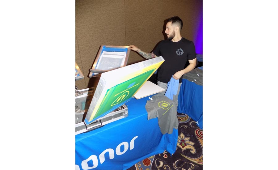 Uponor had custom t-shirts made for all attendees of the 2018 Uponor Convention