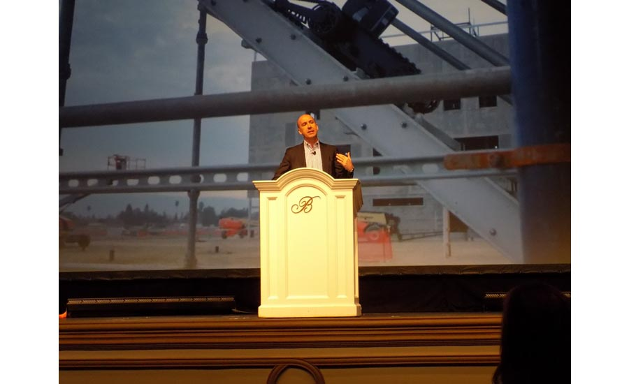 Futurist Jack Uldrich, the opening session keynote speaker at the 2018 Uponor Convention