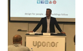 Bill Gray, Uponor's North American president