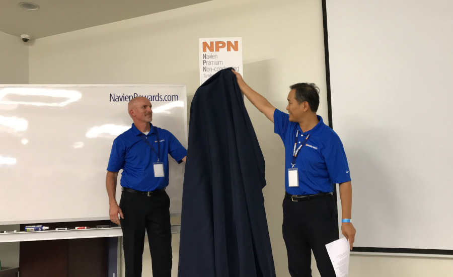 Navien NPN Series product launch event