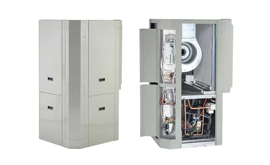 Water-to-air geothermal heat pump from Modine