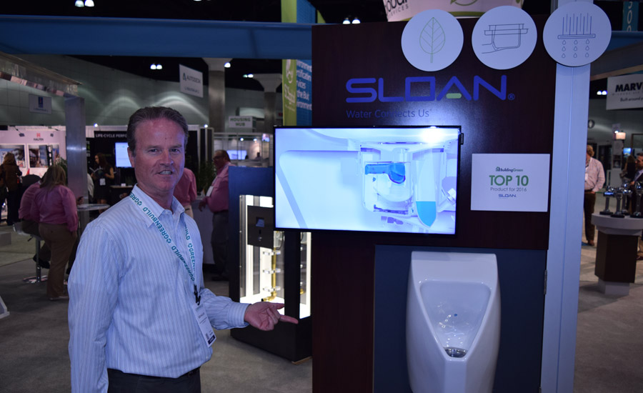 Sloan at Greenbuild 2016 in Los Angeles