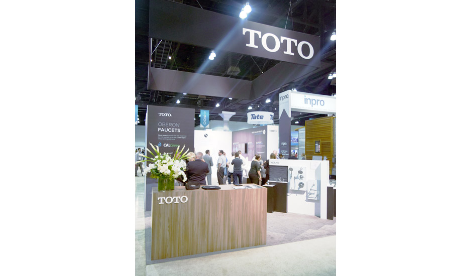 TOTO USA at Greenbuild 2016 in Los Angeles