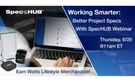Watts SpecHub Webinar