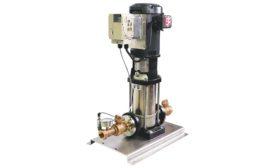 vertical multistage variable speed pump