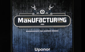 Uponor Manufacturing Award