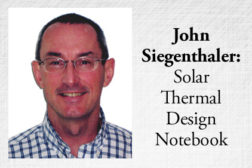 John Siegenthaler: Solar Thermal Design Notebook