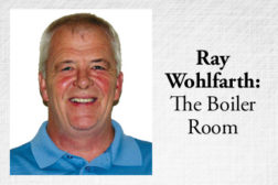 Ray Wohlfarth: The Boiler Room