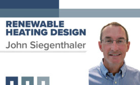 John Siegenthaler: Renewable Heating Design
