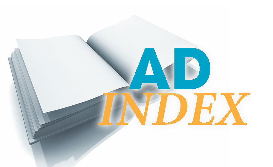 February 2016 Ad Index