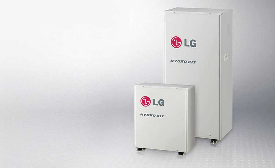 LG indoor heat exchanger