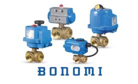 Bonomi North America brass ball valve