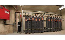 The Victaulic Vortex hybrid fire extinguishing system,