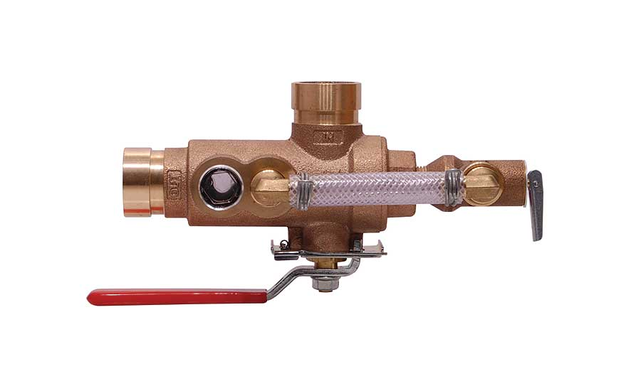 AGF Manufacturing grooved connection test and drain valves