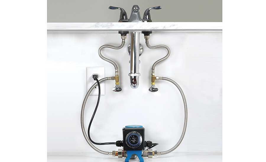 AquaMotion hot water recirculation system