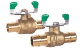 Matco-Norca lead-free PEX ball valves