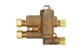 Leonard Valve four-port valve