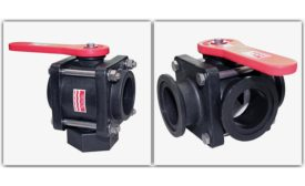 Bee Valve poly-bolted ball valves