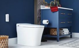 Mansfied Plumbing Products built-in bidet toilet