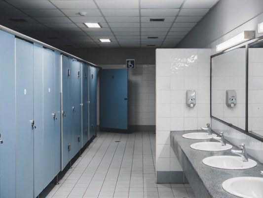 Touch free restrooms