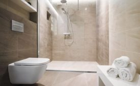 QuickDrain USA commercial shower system