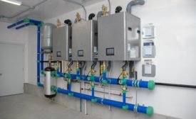 Navien NFB-C commercial condesnign fire tube boilers