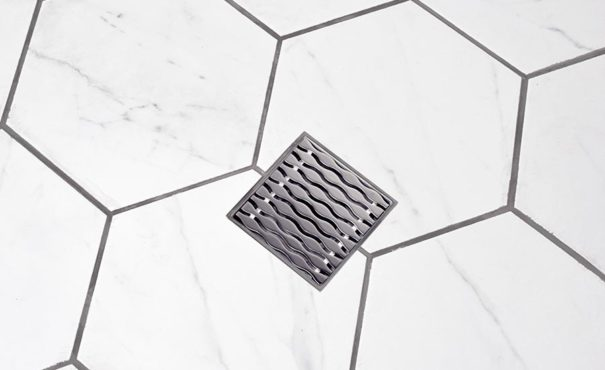SquareDrain shower drain
