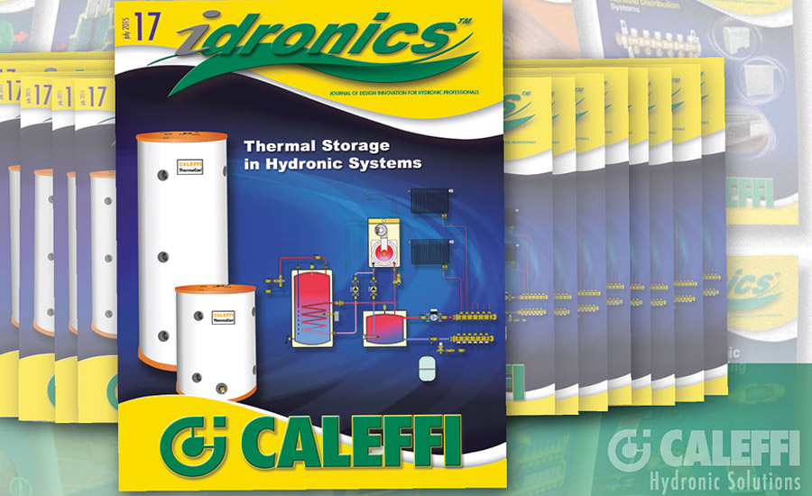 Thermal Storage in Hydronic Systems from Caleffi