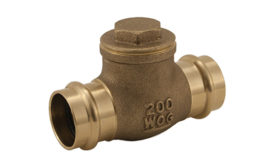 Horizontal check valve from Jomar Valve