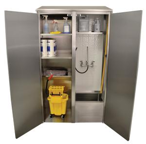 Mop sink cabinet | 2013-07-01 | PM Engineer