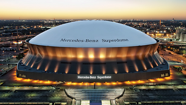 Business as usual at the superdome 2013 03 21 pm engineer for Mercedes benz dome