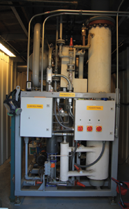 Energy Concepts coal-fired blast freezer