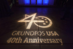 Grundfos celebrated 40 years of operations in the United States