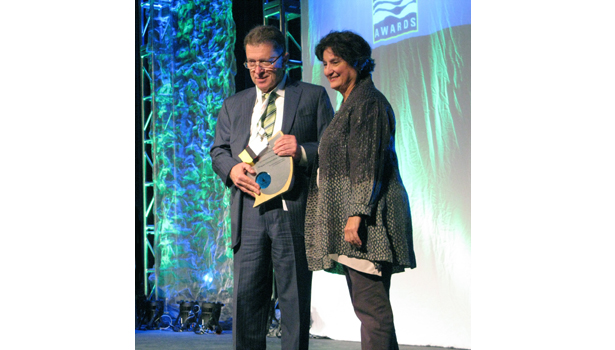 The U.S. EPA honored Niagara Conservation with its 2013 WaterSense Manufacturing Partner of the Year.