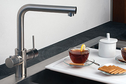 Good ... Dispenser To Provide Unfiltered Cold And Hot Water. Insinkerator Feat