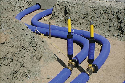 Comfortpro systems insulated pex pipe and components for Pex water pipe insulation