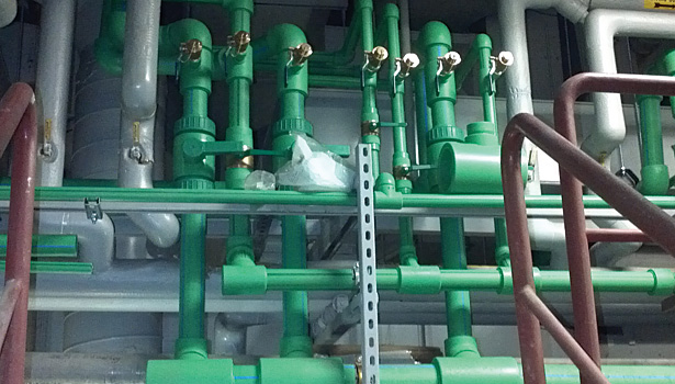 Overhaul Of Piping Hot Water Recirculation System Puts