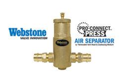 webstone air separator