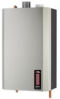 Utica SSV is a gas-fired, wall-hung, stainless-steel modulating condensing boiler