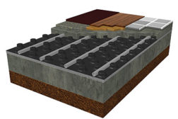 Uponor knobbed mats