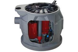 Liberty Pumps duplex grinder system