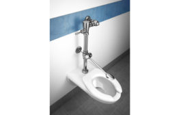Moen Commercial introduces its heavy-duty Mâ?¢Dura Bedpan Washer.