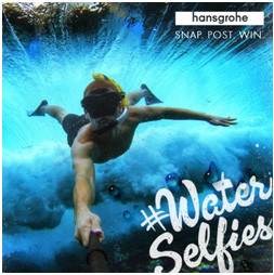 #WaterSelfies will be accepted from July 1-31, 2014.