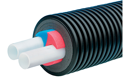 Ecoflex pipe from uponor 2014 06 30 pm engineer for Pex water pipe insulation