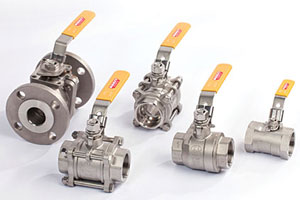 Merit Brass ball valves