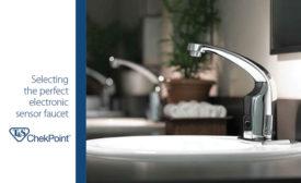 Sensor faucet brochure from T&S Brass