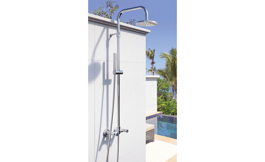 Stainless Steel Showers From Outdoor Shower Co. Latest Products Outdoor
